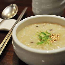 Rice porridge at Yong Su San