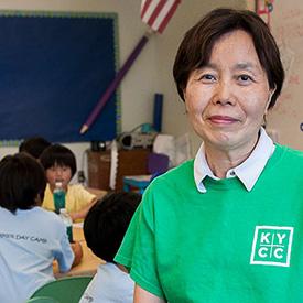 KYCC volunteer