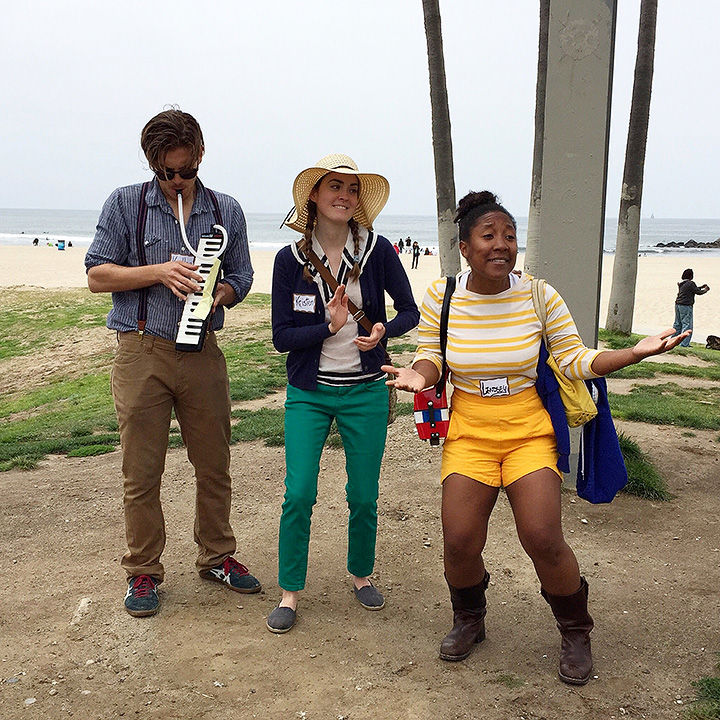When's the last time you went on a walking tour that was accompanied by comedic songbirds and a melodica?
